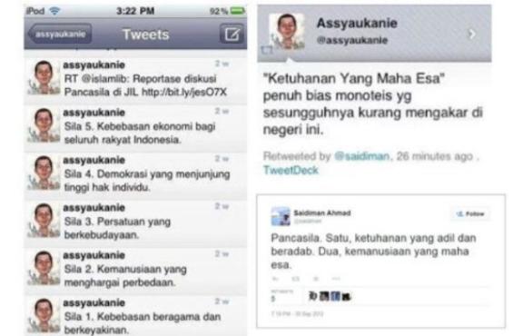 Netizen: Pak Tito, Sebelum Bubarkan HTI, Tolong Tangkap Pentolan JIL Pengubah Pancasila Ini!