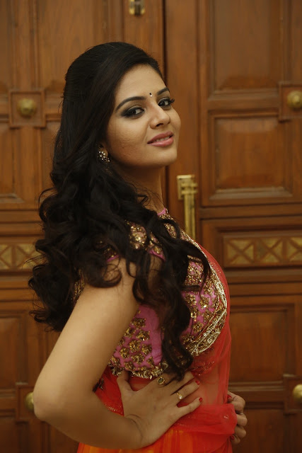 Srimukhi Latest Photos At Basthi Movie Audio Launch
