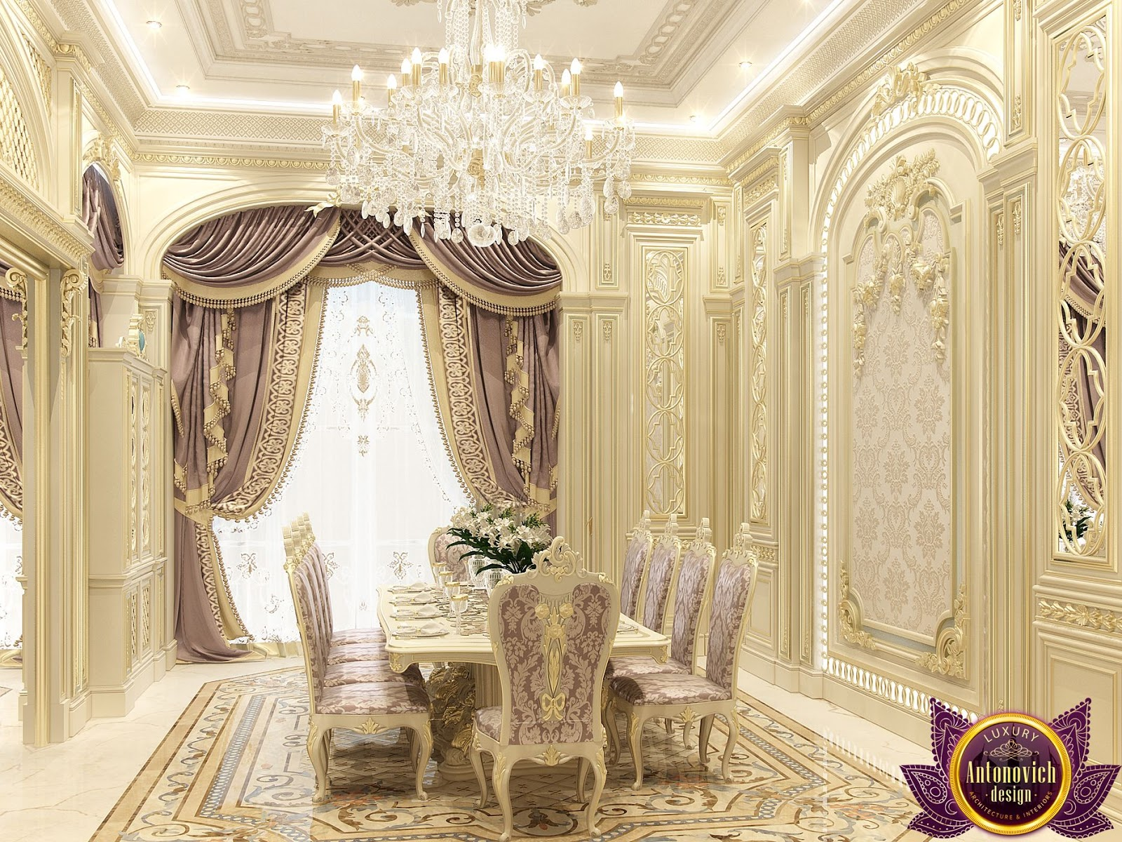 Kitchen Design Usa By Katrina Antonovich: Kenyadesign: Dining Room Interior Design Of Katrina Antonovich