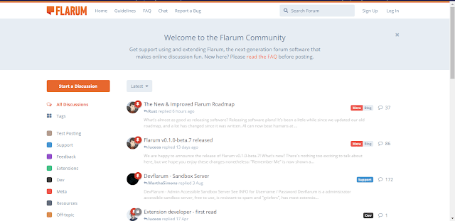 CMS Forum Flarum