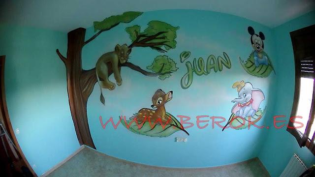 murales decorativos para bebes