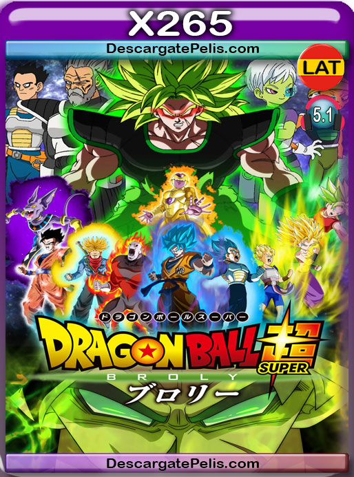 Dragon Ball Super Broly (2018) 1080P X265 Latino – Japones – Ingles