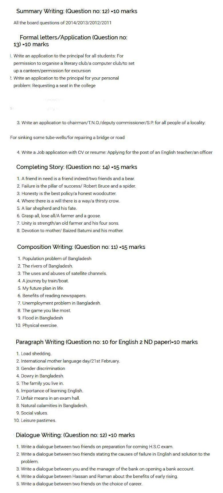 Example Of English Essay Copy Of Business Letter Dowry Essay Word Examples Of Explanation Essay  Hscbenglishbnd Science Essay also Health Care Essay Topics Save Tiger Essay In Telugu About My Life Essay My First Day Of High School Essay