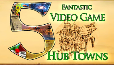 Venture is our hub metropolis for the Pieces of Broken World storyline five Fantastic Video Game Hub Towns