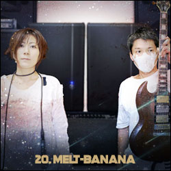 The 24 Greatest Bands In The World Right Now: 20. Melt-Banana