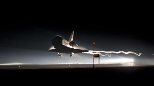 space shuttle landing distance - photo #18