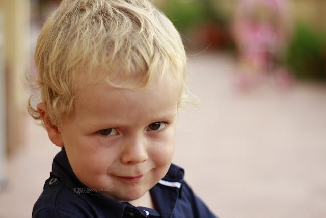 Ritratto di bambino con il Canon EF 50mm f/1.8 II a F:2