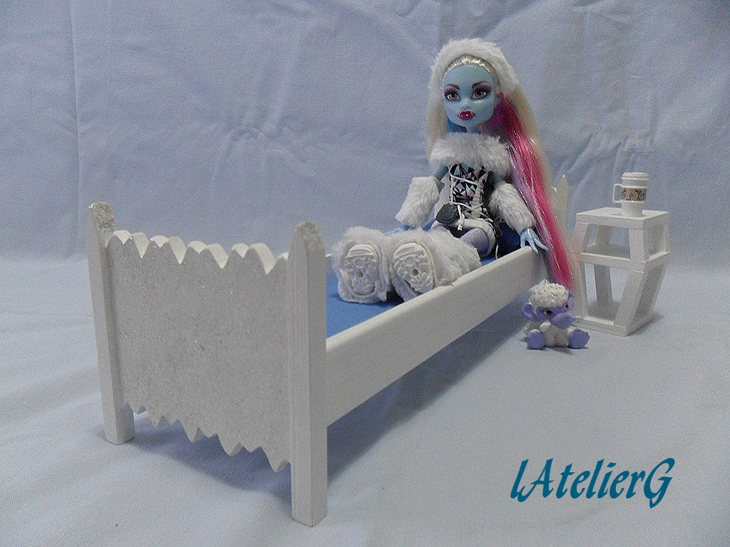 Maisons d coration comment faire un lit monster high - Comment faire un lit superpose monster high ...