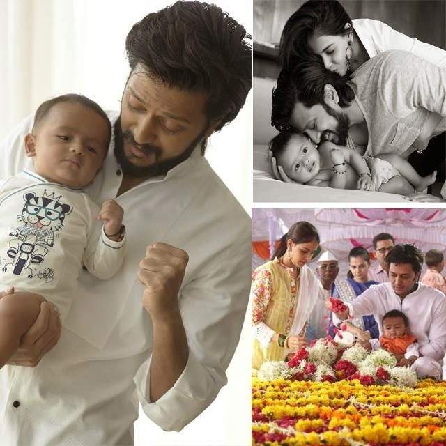 Love2Share: Aww! Ritesh Deshmukh Shares Pictures of Riaan ...