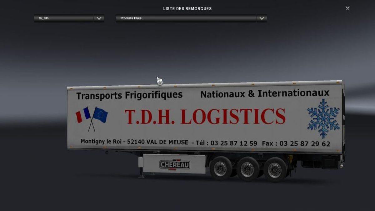 T.D.H. LOGISTICS Trailer v2