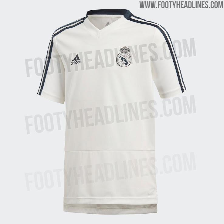 timeless design 3fdf6 65261 Real Madrid 18-19 Training Kit Leaked - Footy Headlines