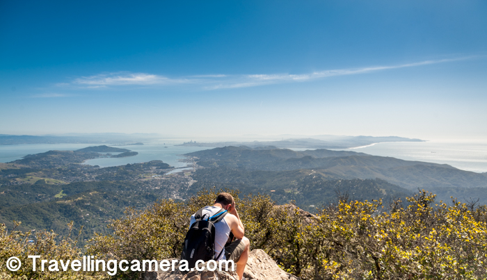 While in San Francisco Bay Area, if you want to witness some of the brilliant views of the bay, San Francisco city and enjoy some of the beautiful hikes, Mount Tamaplais is a brilliant place to plan. This post would take you through our hiking experience to Mount Tamalpais and how we optimized our day in such a way that we could visit the famous Muir Woods National Park as well.