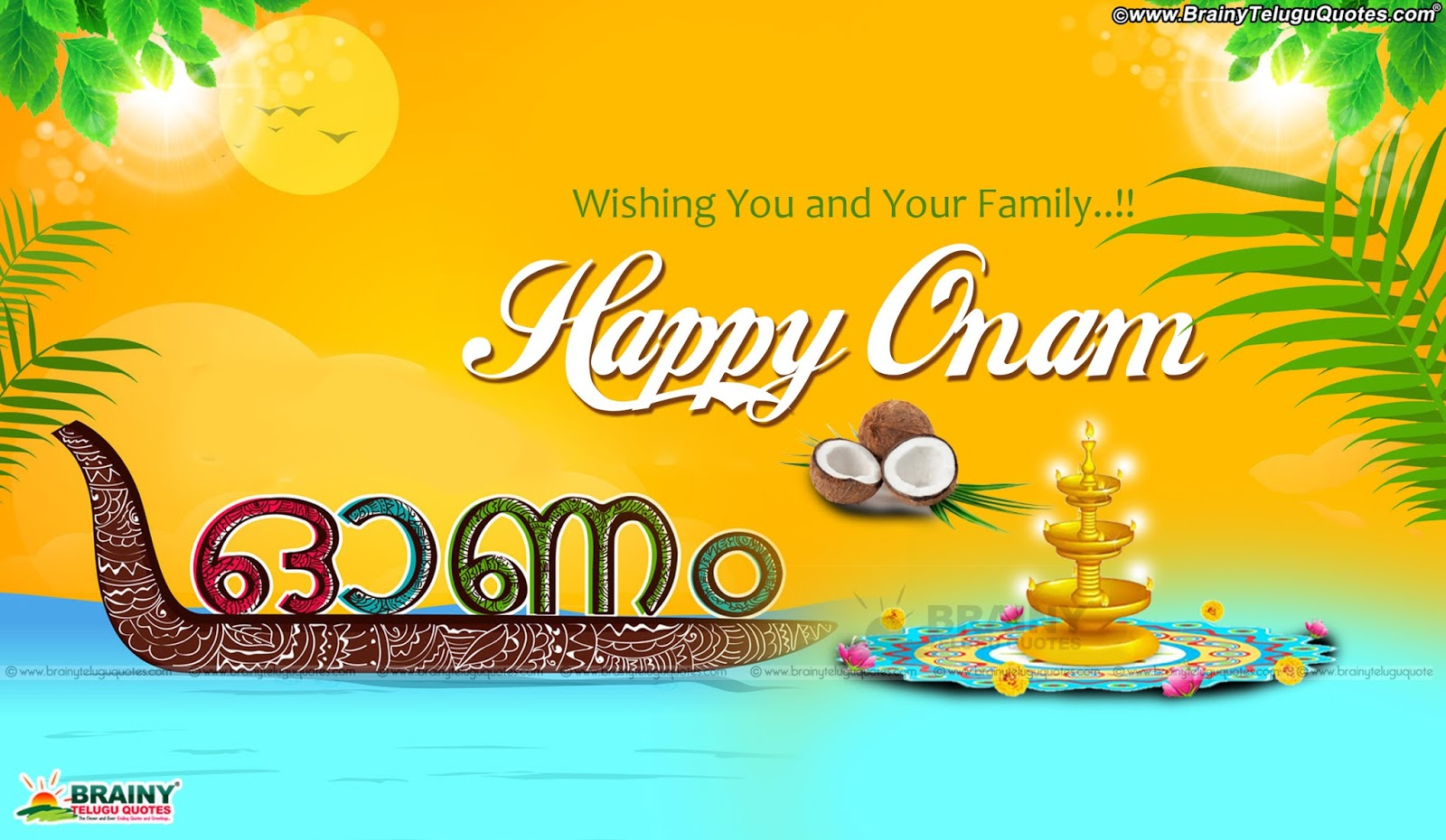 Malayalam Onam Top Greetings And Whatsapp Magic Images Free