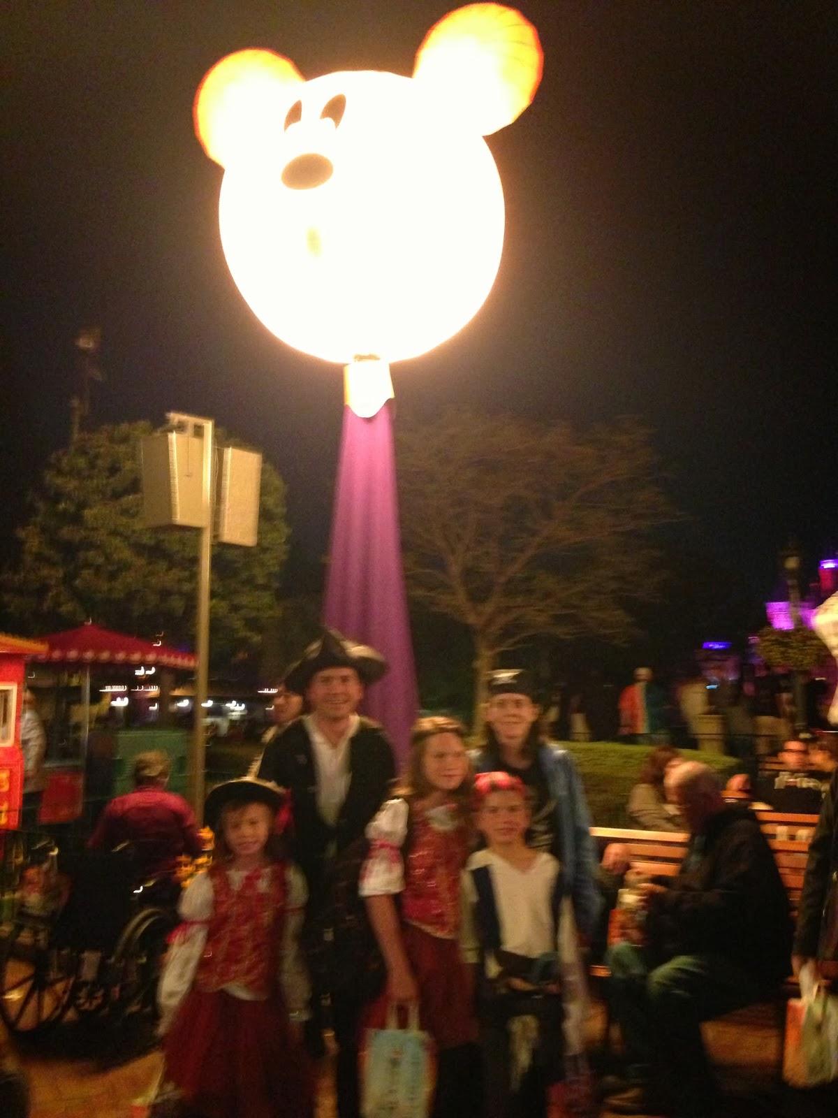 Mickey;s Halloween Party Disneyland