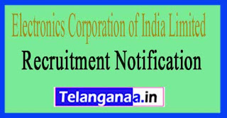 Electronics Corporation of India Limited ECIL Recruitment Notification 2017