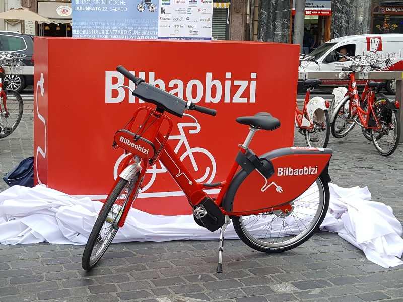 bicicletas eléctricas de Bilbao España