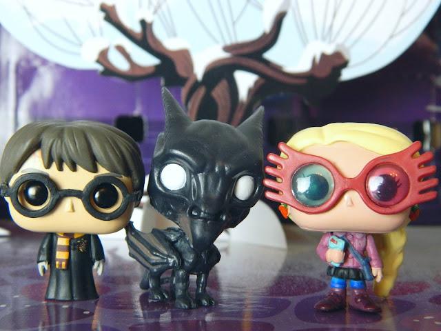 Funko Pocket Pop! Harry Potter, Thestral, Luna Lovegood