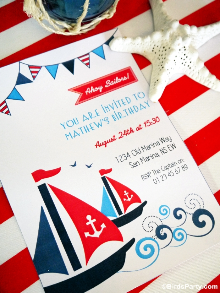 4th of July Party Ideas and Printables - BirdsParty.com