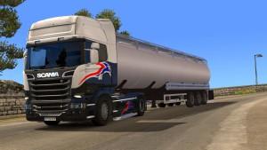 Fuel Tanker trailer mod
