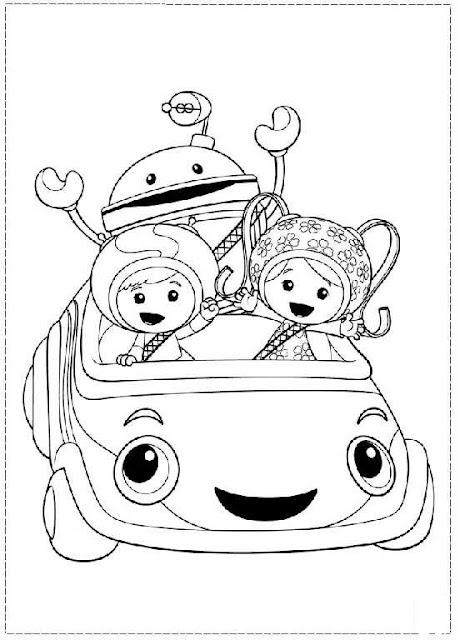 Команда Умизуми — анимационный сериал производства Nick Jr.