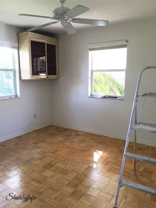 parquet floor painting
