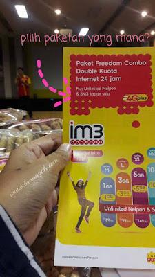 Indosat ooredoo, freedomcombo, im3 ooredoo, funblogging