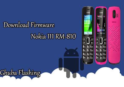 Firmware Nokia 111 RM-810 Version 03.51 Bi