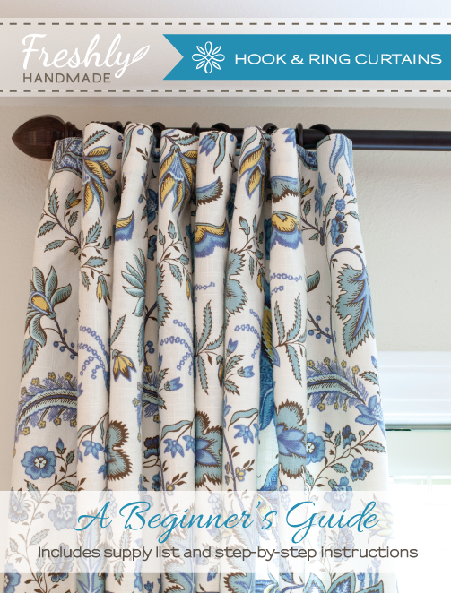I Just Finished The Master Bedroom Curtains As Part Of My Summer Spruce Up Series And Thought Would Share Steps Took To Create Them Using Hook