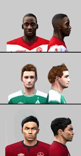 PES 6 Faces Bundesliga by Gabo Facemaker