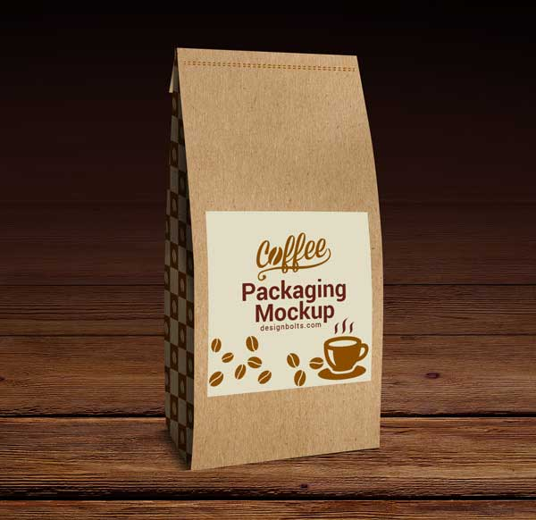 Coffee Packaging Mock-up PSD
