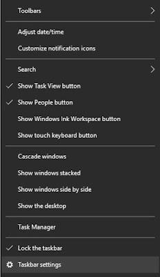 Setelah itu arahkan pointer/cursor ke tanggal dan waktu lalu klik Kanan lalu pilih Adjust date/time