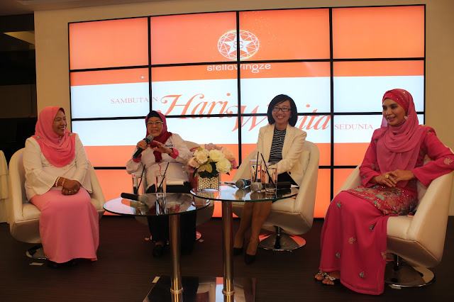 Sambutan Hari Wanita Sedunia anjuran Stellavingze International