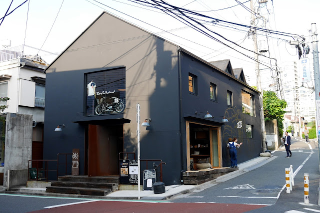deus ex machina coffee shop harajuku japan