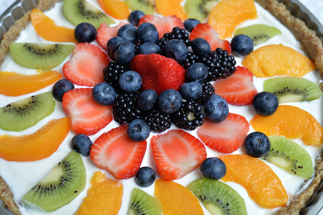 healthy greek yogurt fruit tart dessert breakfast