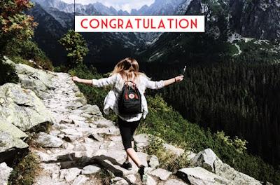 Congratulations Wishes: for LIFE SUCCESS ACHIEVEMENT