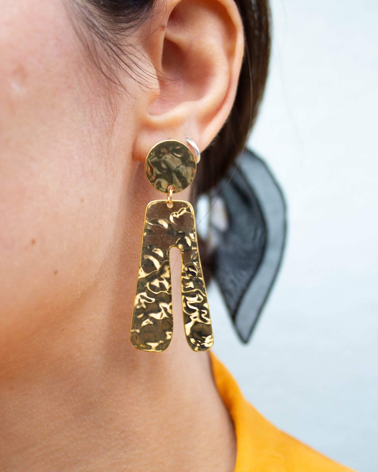 pico the store, pico jeewllery, love improchori, earrings, statement jewellery, made in greece, greek designer, gold plated, gift, semi fine
