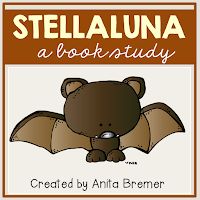 Book companion activities to go with the book Stellaluna