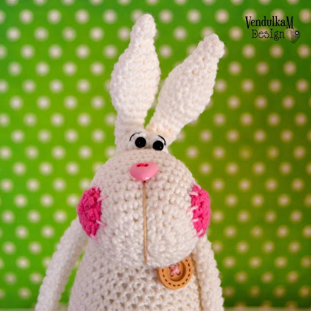 Crochet bunny Eda by VendulkaM