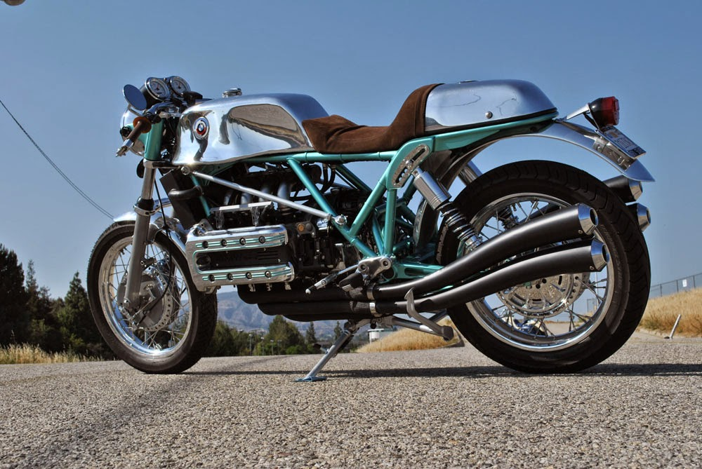 BMW K1200RS KAgusta   Return of the Cafe Racers