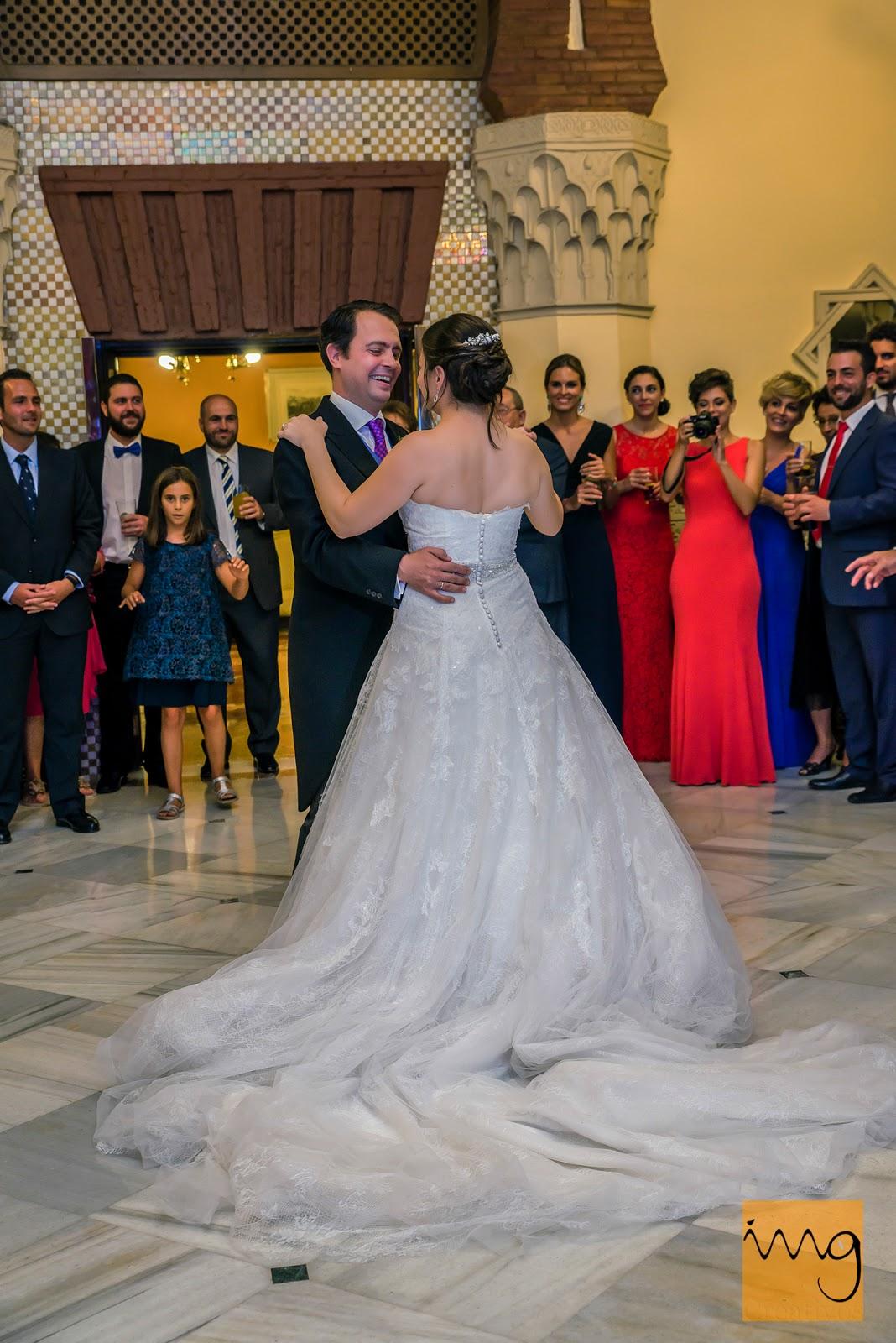 Fotografía de boda, bailando