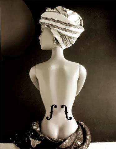 Barbie - Man Ray - Réplica de Jocelyne Grivaud