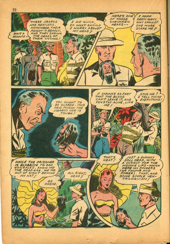 Read online Super-Magician Comics comic -  Issue #9 - 22