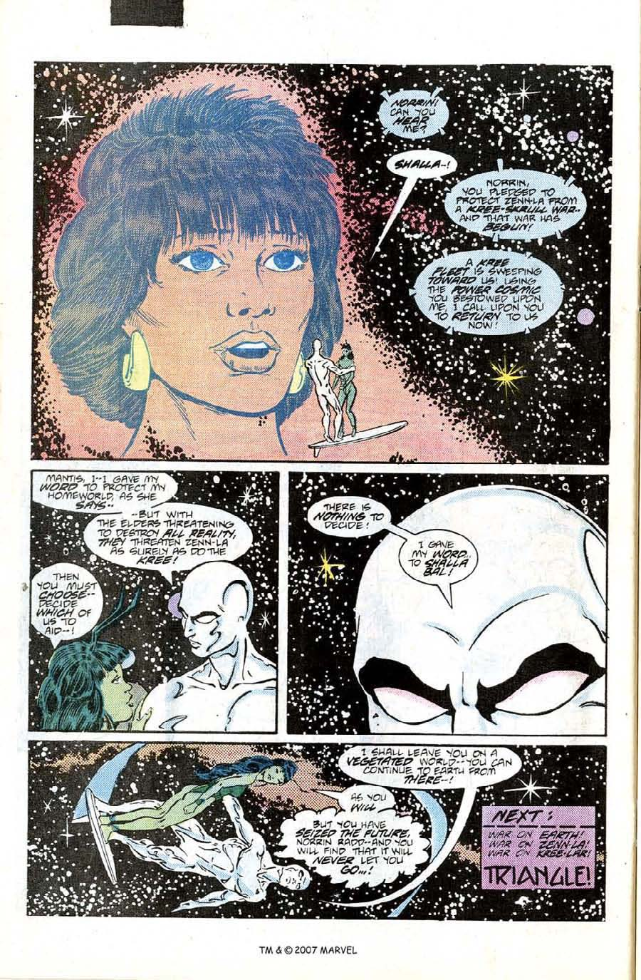 Read online Silver Surfer (1987) comic -  Issue #6 - 32