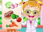 لعبة بيبي هازل طبيبة تغدية
