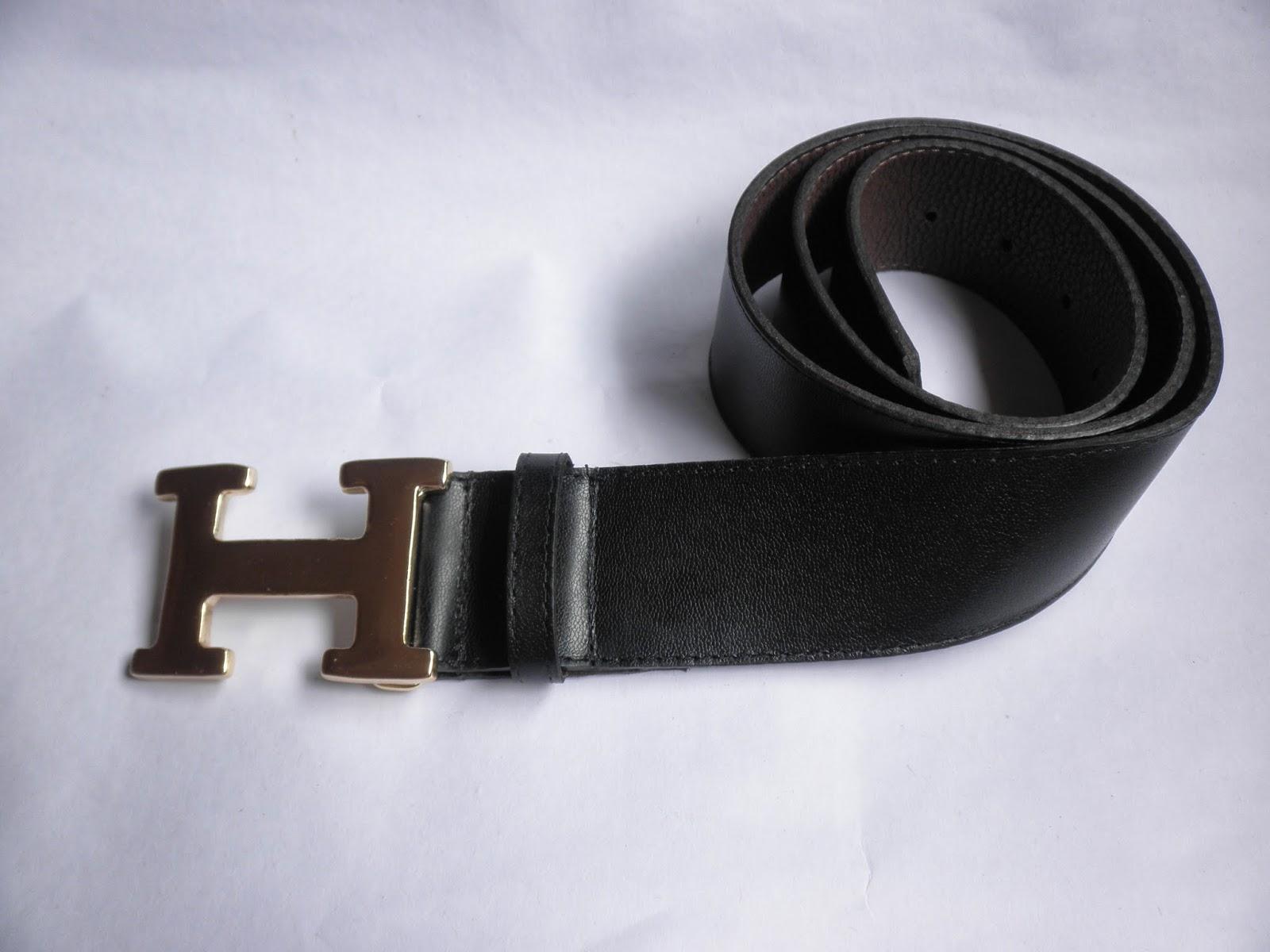 60c5c8e6dc2 Cinto Unisex estilo Hermes
