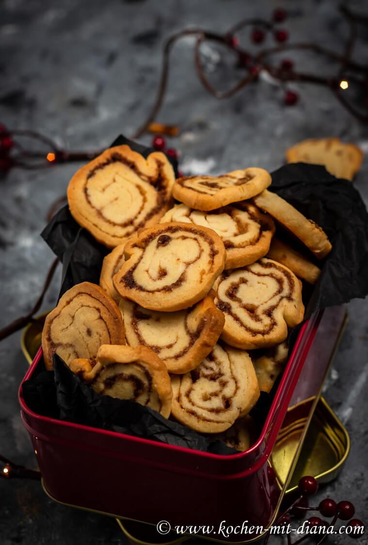 Zimtschnecken Kekse