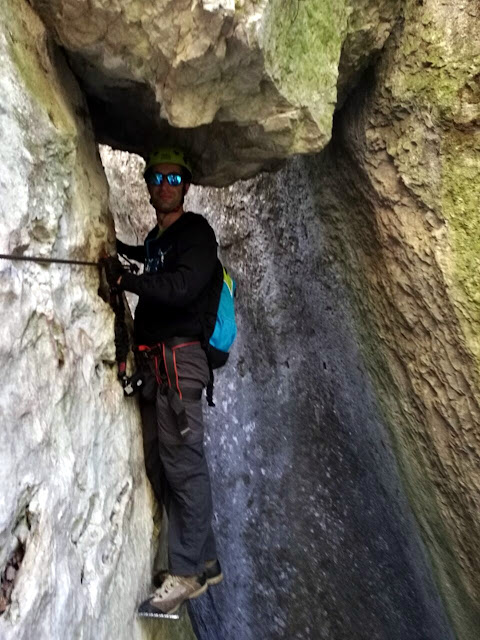via ferrata rio sallagoni