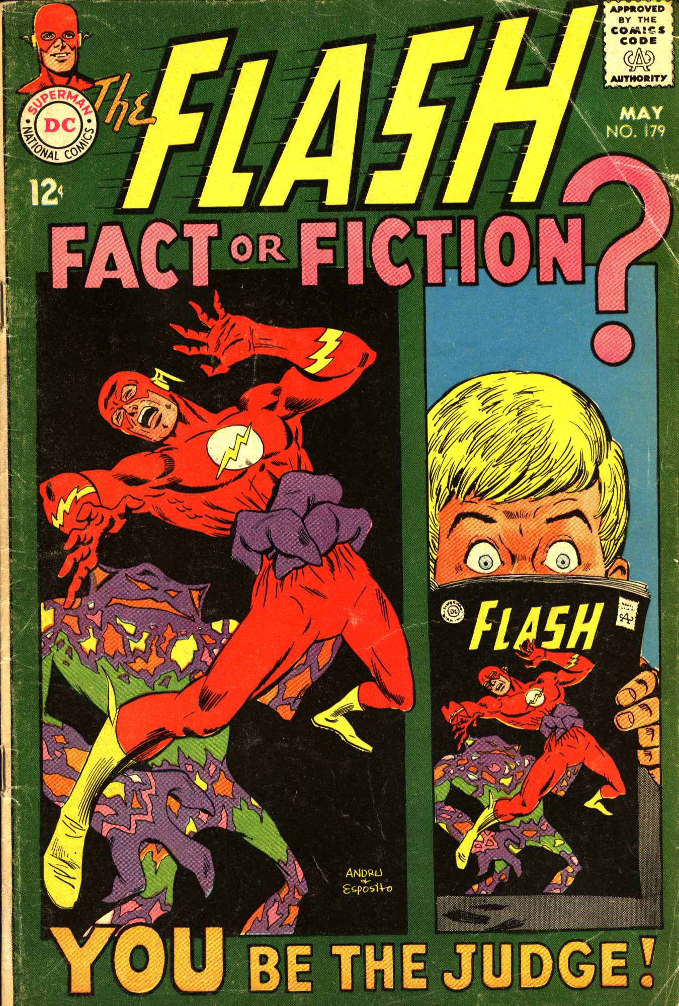 The Flash (1959) 179 Page 1