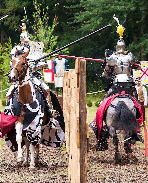 Arundel: re-encenações da vida medieval.