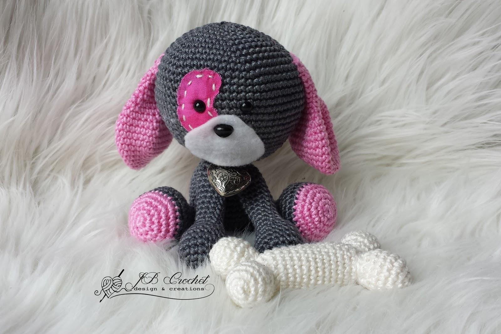 Jb Crochet Design Creations Hondje Domino